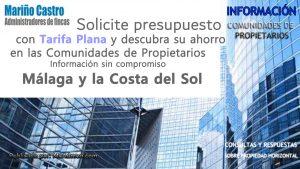 Presupuesto Administrador de Fincas con Tarifa Plana para Málaga
